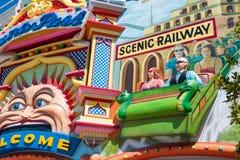 Luna Park, Мельбурн Стоковая Фотография