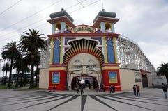 In Luna Park royalty-vrije stock foto's