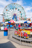 The Luna Park amusement park at Coney Island in New York City Royalty Free Stock Images
