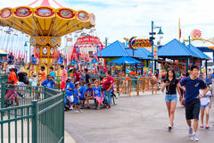 The Luna Park amusement park at Coney Island  in New York Royalty Free Stock Photo
