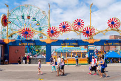The Luna Park amusement park at Coney Island  in New York Stock Photo