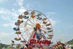 Luna Park a Como em Italy Fotos de Stock