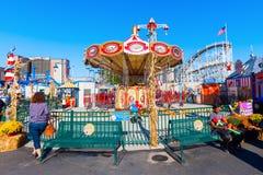Luna Park in Coney Island, NYC Stock Photos