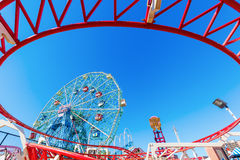 Luna Park in Coney Island, NYC Royalty Free Stock Images