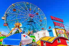 Luna Park in Coney Island, NYC Stock Images