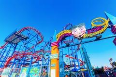 Luna Park in Coney Island, NYC Royalty Free Stock Photos