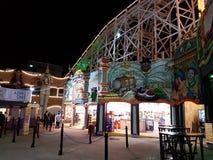 Luna Park dans St Kilda, Australie Photos libres de droits