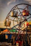 Luna park della città di Yalova Immagini Stock Libere da Diritti