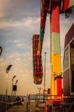 Luna park della città di Yalova Immagine Stock Libera da Diritti