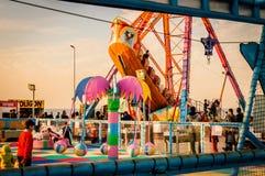 Luna park della città di Yalova Fotografia Stock Libera da Diritti