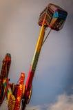 Luna park della città di Yalova Immagini Stock