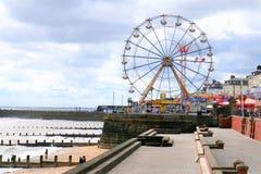 Luna park della spiaggia, Bridlington, Yorkshire fotografia stock
