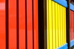 Luna park, detail of a fence Stock Photos