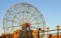 Luna Park di Coney Island, Brooklyn, New York fotografie stock libere da diritti