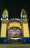 Luna park entrance in sydney australia Stock Photos