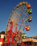 Luna Park ferris wheel. Old-school cool ferris wheel Royalty Free Stock Images