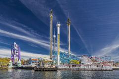 Luna Park Grona Лунд Стоковое фото RF