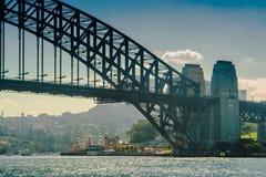 Luna Park And Harbour Bridge Stock Image