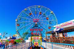 Luna Park In Coney Island, NYC Stock Photo