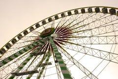 Luna park - karnawałowe rozrywki Obraz Royalty Free