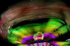 Luna Park ljus Arkivbild