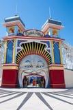 Luna Park, Melbourne Lizenzfreie Stockbilder