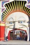 Luna Park a Melbourne Immagine Stock