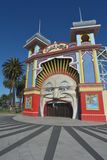 Luna Park Melbourne Victoria Australia. Exterior view of the Luna Park in Melbourne Victoria, Australia stock photography