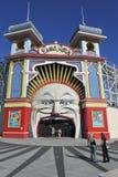 Luna Park Melbourne Victoria Australia lizenzfreie stockfotografie