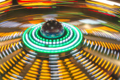 Luna Park moving lights background Royalty Free Stock Photography