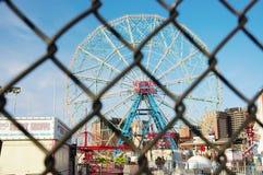 Luna park  of new york closed Royalty Free Stock Photos