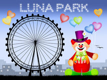 Luna park Stock Photography