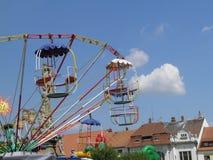 Luna Park oder Vergnügungspark Lizenzfreie Stockfotografie