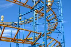Luna Park, Sonderkommando von Achterbahnen Lizenzfreies Stockbild