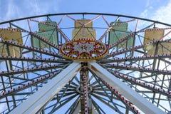 Luna Park, Sonderkommando von Achterbahnen Lizenzfreie Stockbilder