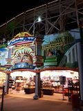 Luna Park in St Kilda, Australia. Luna Park in St Kilda, Victoria, Australia is a theme park and popular holiday attraction royalty free stock photos