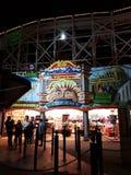 Luna Park in St Kilda, Australia. Luna Park in St Kilda, Victoria, Australia is a theme park and popular holiday attraction stock images
