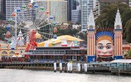 Luna Park Sydney Royaltyfri Fotografi