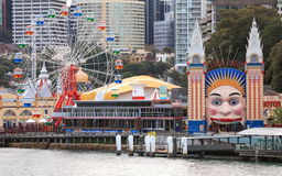 Luna Park Sydney Royalty Free Stock Photography