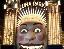 Luna Park, Sydney, Australië Royalty-vrije Stock Foto
