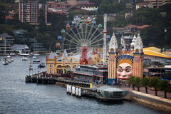Luna Park Royalty Free Stock Photos