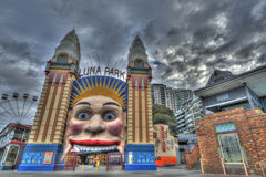 Luna Park Sydney Australia Stock Photo