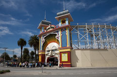 Luna Park in Sydney and Melbourne in Australia royalty free stock image