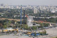 Luna Park in Tel Aviv. TEL AVIV, ISRAEL - APRIL 30, 2017: Luna Park in Tel Aviv. It is an amusement park complex in the Tel Aviv Fairgrounds built in 1970 with Stock Photos