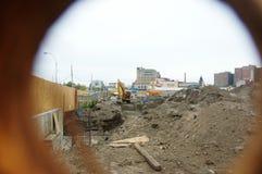Luna park  under renovation Royalty Free Stock Images