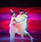 Luna persistente-Hui del ballet sobre Helan Fotos de archivo libres de regalías