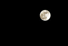 Luna piena di perigeo Fotografia Stock Libera da Diritti