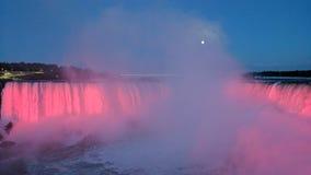 Luna piena durante le cadute fotografie stock libere da diritti