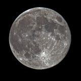Luna piena eccellente Fotografia Stock