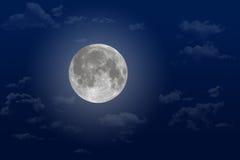 Luna piena eccellente fotografia stock libera da diritti
